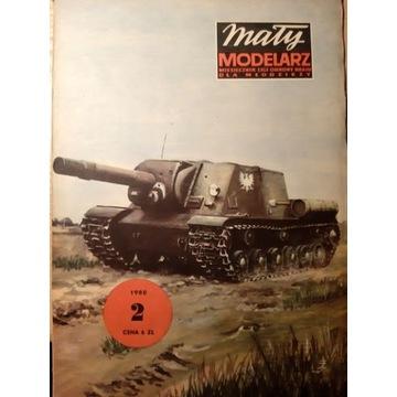 ISU 152 Radzieckie działo samobieżne [MM 2/1980]