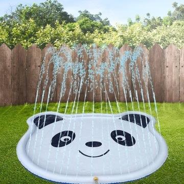 Nadmuchiwana panda pryskająca wodą