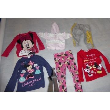 zestaw ubran dla dziewczynki 0-5lat 200szt