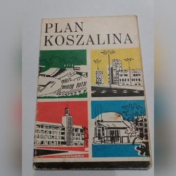 Plan miasta Koszalin PPWK 1977