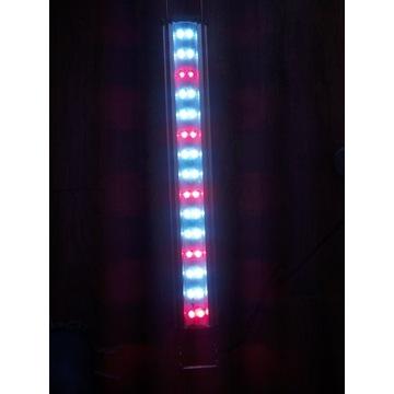 Belka lampa - Led SL-600 Akwarium 60cm 12 Watt