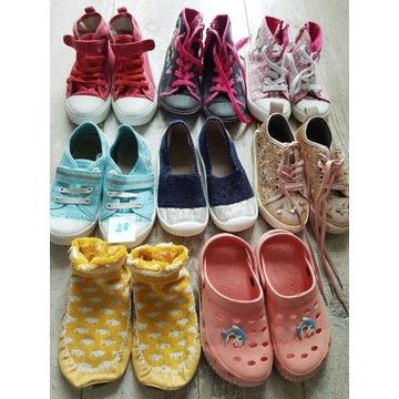 Buty rozmiar 28 używane 8 par.