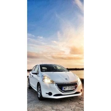 BiałaStrzała Peugeot 208 2015 kratka faktura