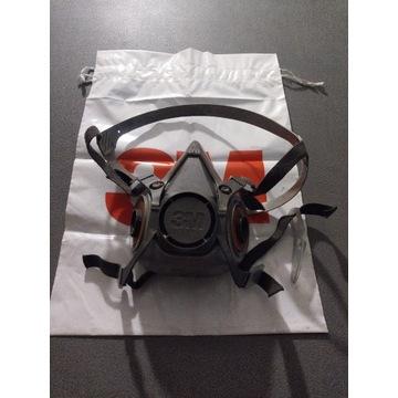 Półmaska maska lakiernicza 3M 6200 roz.M