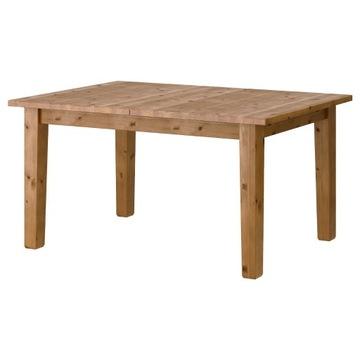 Duży stół drewniany Ikea Stronas