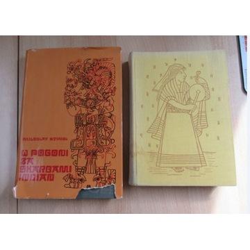 2 książki w Pogoni za skarbami Indian Królestwo