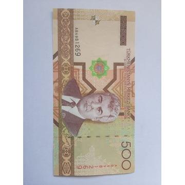 Banknot Turkmenistan  Fajny stan rzadki