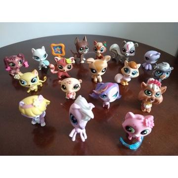 Zestaw 18 figurek Littlest Pet Shop