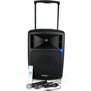 Ibiza port 10 DVD Przenośny głośnik piecyk kolumna