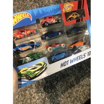 NOWE! Samochody Hot Wheels, 10-pak, HOT 54886
