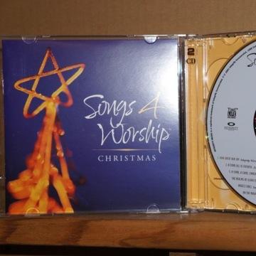 a129. VARIOUS SONGS 4 WORSHIP CHRISTMAS 2CD