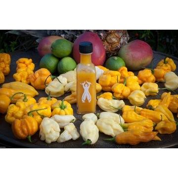 ŻÓŁTY S-O-S (Ostry sos z chili, mango i ananasa)