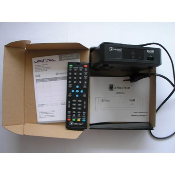 Dekoder / tuner Cabletech URZ0324 + pilot