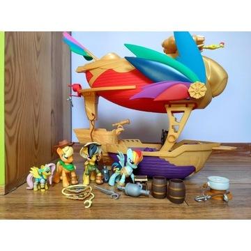 My Little Pony statek piracki + 2 figurki gratis