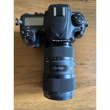 Nikon D500 z Sigma Art 18-35 F1.8 - mały przebieg