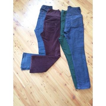 Spodnie ciążowe x4 Next rozmiar 38 (10UK)