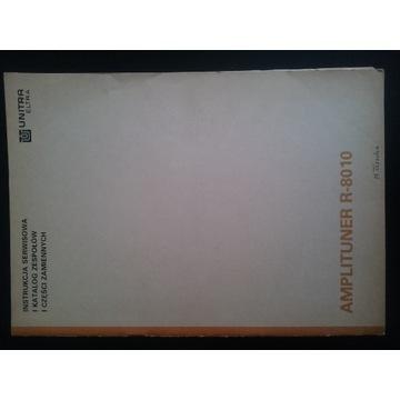 AMPLITUNER R-8010 INSTRUKCJA SERWISOWA ELTRA