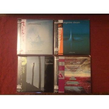 4 x japan Sacd-Shm Tangerine Dream