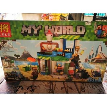 Klocki My World minecraft
