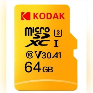 KODAK microSDXC UHS-I U3 V30 A1 4K