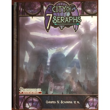 City of 7 Seraphs Pathfinder Planescape rpg nowy