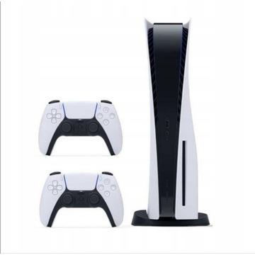 Nowa konsola playstation 5 PS5  z napędem 2 pady
