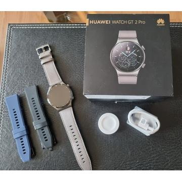 Huawei Watch GT2 Pro jak nowy + gratisy