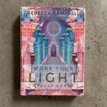 KARTY TAROTA - Work Your Light Oracle Cards