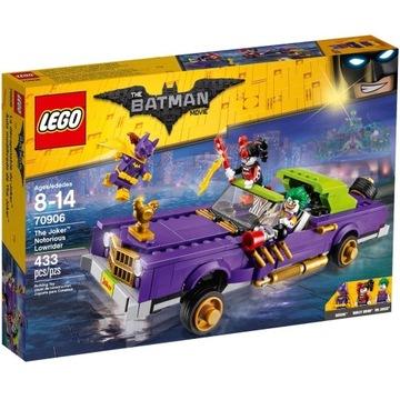LEGO 70906 Batman Movie Lowrider Jokera