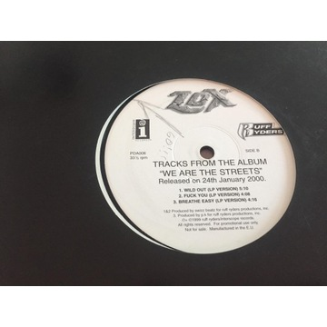 """LOX - We are the Streets (SAMPLER 12"""")"""
