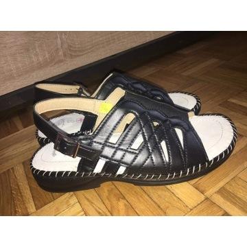 Buty klapki sandały medyczne 39