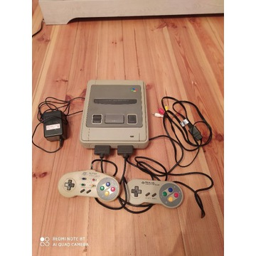 Super Nintendo Snes Famicom Retro Konsola Pad Gra