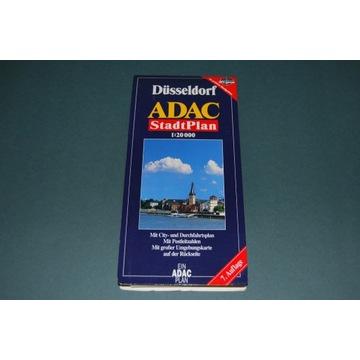 Starocia Mapa Dusseldorf ADAC Wyd z 2007r