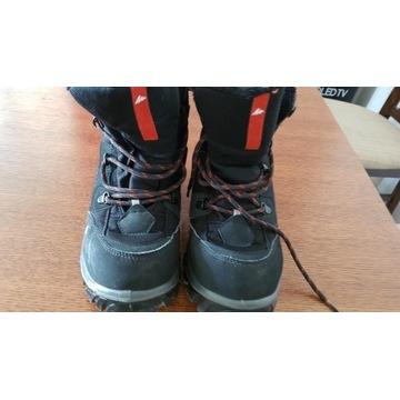 Sprzedam zimowe buty za kostkę Quechua 38