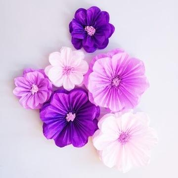 Fioletowy raj -25% prezent dzień matki pomysł tło