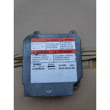 Sterownik airbag opel agila / wagon r+ 5WK43459