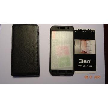 Galaxy A3 (2017) etui skórzane i 360 protect case