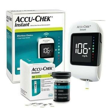 Glukometr POMIAR GLUKOZY NOWY Accu-Chek Instant