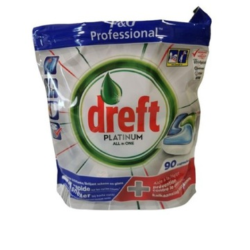Dreft Platinum tabletki do zmywarki 90 tabletek