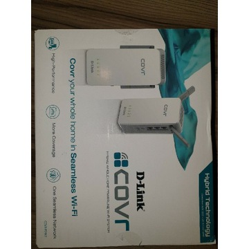 Nowy wzmacniacz po 230V wifi D-Link Covr-P2502