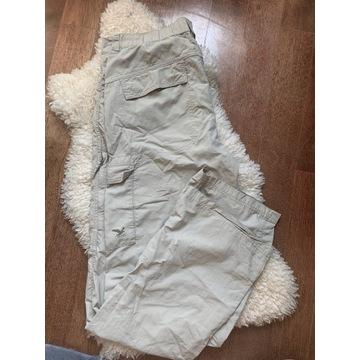 Kremowe spodnie sportowe Salewa Dry't on L męskie