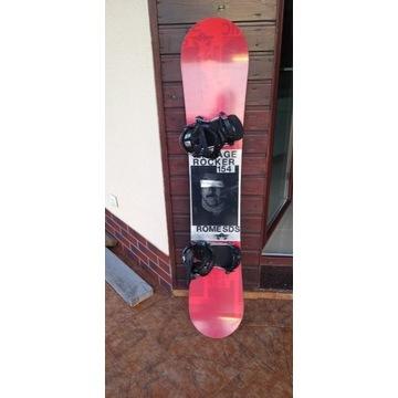 Snowboard ROME SDS + wiązania, długość 154