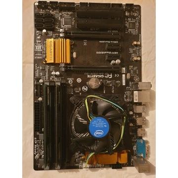 GA-Z97P-D3 + i5 4460 3.2GHz + 16GB 1600MHz CL9