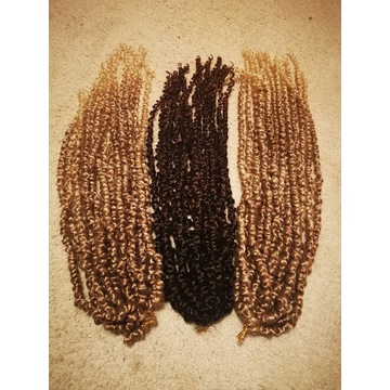 Passion Twist Braiding Hair for Girls and Women