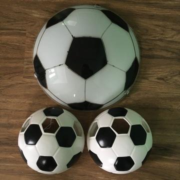LAMPA/PLAFON BALL FOOTBALL PIŁKA NOŻNA CAŁY ZESTAW