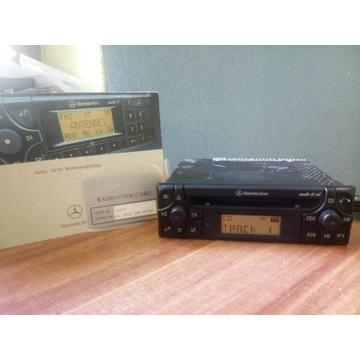 Radio Mercedes Audio 10 cd w124 190 w201 + książka