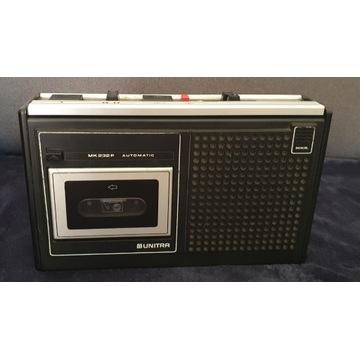 Magnetofon przenośny UNITRA Grundig MK232/MK232p