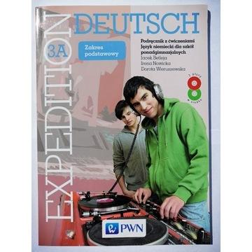 EXPEDITION DEUTSCH 3A Podręcznik z ćwiczeniami