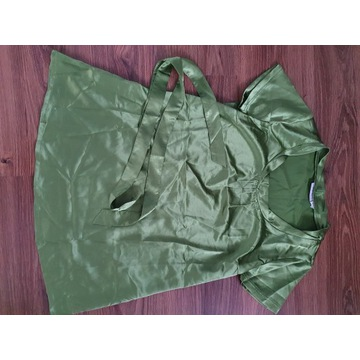 Nowa satynowa tunika ciążowa 32/34