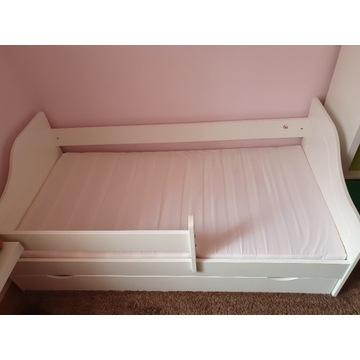 Łóżko 80 x 160 cm z zabezpieczeniem bocznym